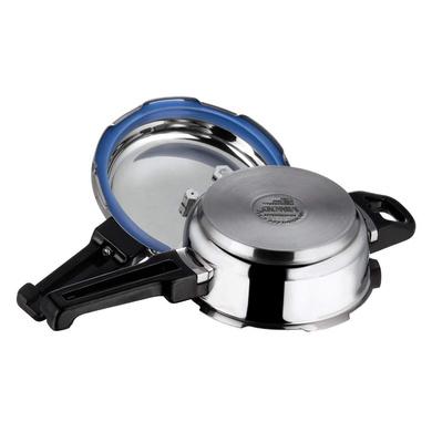 Vinod 18/8 Stainless Steel Pressure Pan with Lid (Induction Friendly)-Junior-2