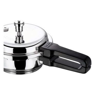 Vinod 18/8 Stainless Steel Pressure Pan with Lid (Induction Friendly)-Mini-4