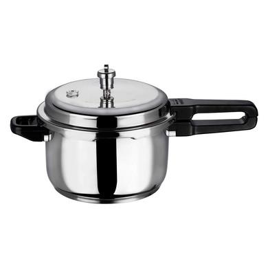 Vinod 18/8 Stainless Steel Pressure Cooker -5 Ltr (Induction Friendly)-5116