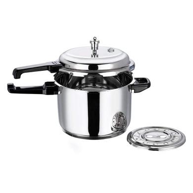 Vinod 18/8 Stainless Steel Pressure Cooker -7 Ltr (Induction Friendly)-2