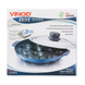Vinod Cookware Non Stick Round Paniyarakkal with Lid, 22 cm, Aluminium-22cm-4-sm
