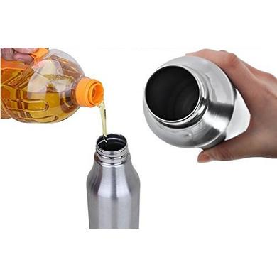 Bergner Stainless Steel Oil Dispenser / Pot - 7099, 500ml-2