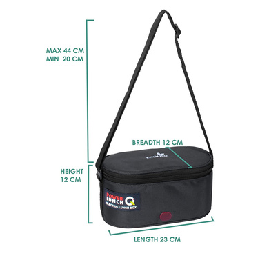 Ecoline Electric Lunch Box Q4 -Capacity 1400ml-3