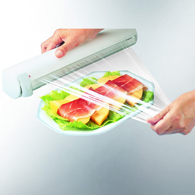 Leifheit Rolly Mobil Wall-Mounted Paper Towel Holder 25795-3