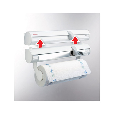 Leifheit Rolly Mobil Wall-Mounted Paper Towel Holder 25795-2