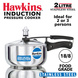 Hawkins Stainless Steel Induction Pressure cooker, 2 Litre(B25)-2ltr-1-sm