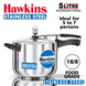 Hawkins Stainless Steel Induction Pressure cooker, 5 Litre(B30)-5ltr-1-sm
