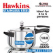 Hawkins Stainless Steel Induction Pressure cooker, 4 Litre(B45)-4ltr-1-sm