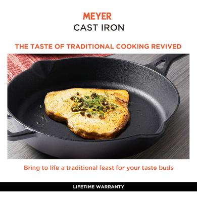 Meyer Induction Base Cast Iron Frying Pan, 20 cm(48121)-3
