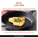 Meyer Induction Base Cast Iron Frying Pan, 20 cm(48121)-3-sm