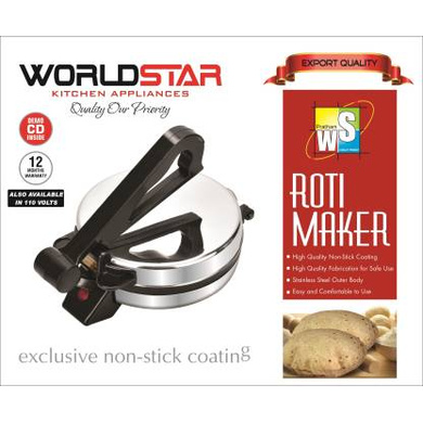 Worldstar 1000 Watts Roti Maker-2