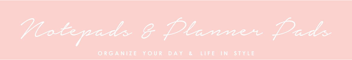 Notepads & Planner Pads