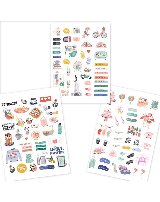 MOODS OF LIFE – STICKERS-AP2020