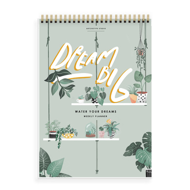 WEEKLY PLANNER - LITTLE SPROUT, DREAM BIG - Water Your Dreams-TODOAP21-14