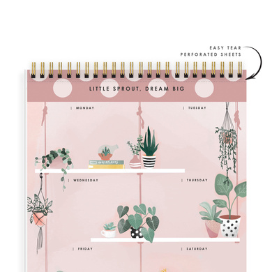 WEEKLY PLANNER - LITTLE SPROUT, DREAM BIG - Water Your Dreams-2
