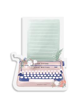STICKY NOTES PAD - Stop Typing Start Writing - Blush & Mint