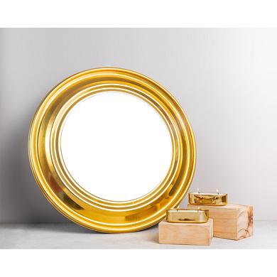 RADIANCE GOLD ROUND MIRROR - 18 inches-MIRROR18AP21-22