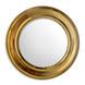 RADIANCE GOLD ROUND MIRROR - 18 inches-1-sm