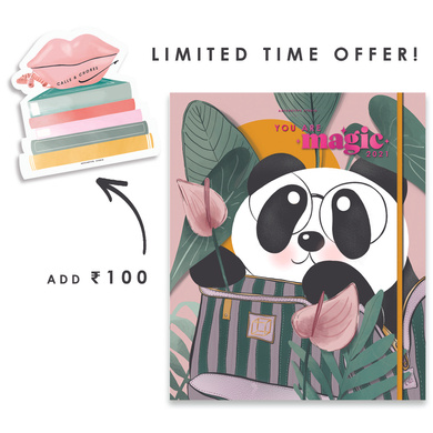 Limited Edition - 2021 - GRANDE BINDER CLIP CUTE FT. CUBO ANNUAL PLANNER-AP21-38