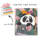 Limited Edition - 2021 - GRANDE BINDER CLIP CUTE FT. CUBO ANNUAL PLANNER-AP21-38-sm
