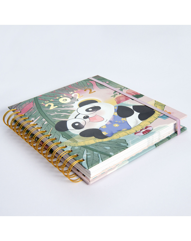 2022 Cute ft. Cubo Wire-O Bound Annual Planner | Pre-order Edition-3