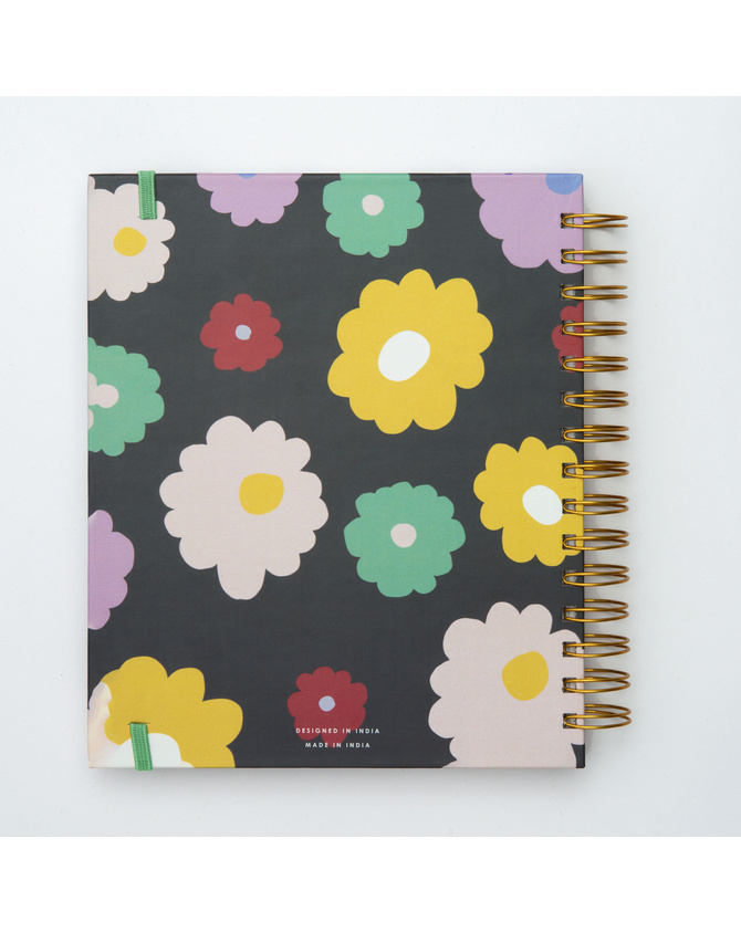 2022 Magical Blooms Wire-O Bound Annual Planner   Pre-order Edition-2