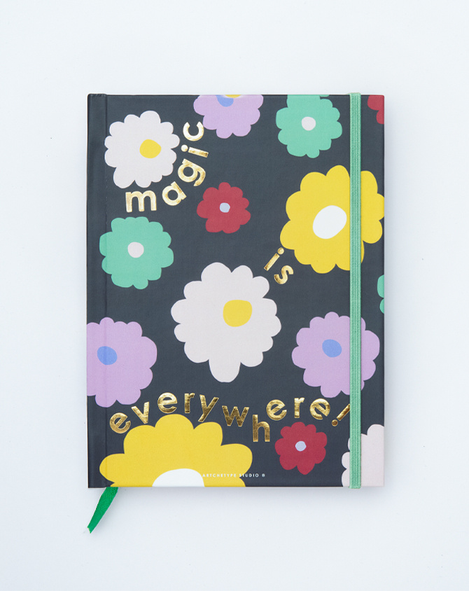 2022 Magical Blooms Hardbound Annual Planner | Pre-order Edition-AP2204