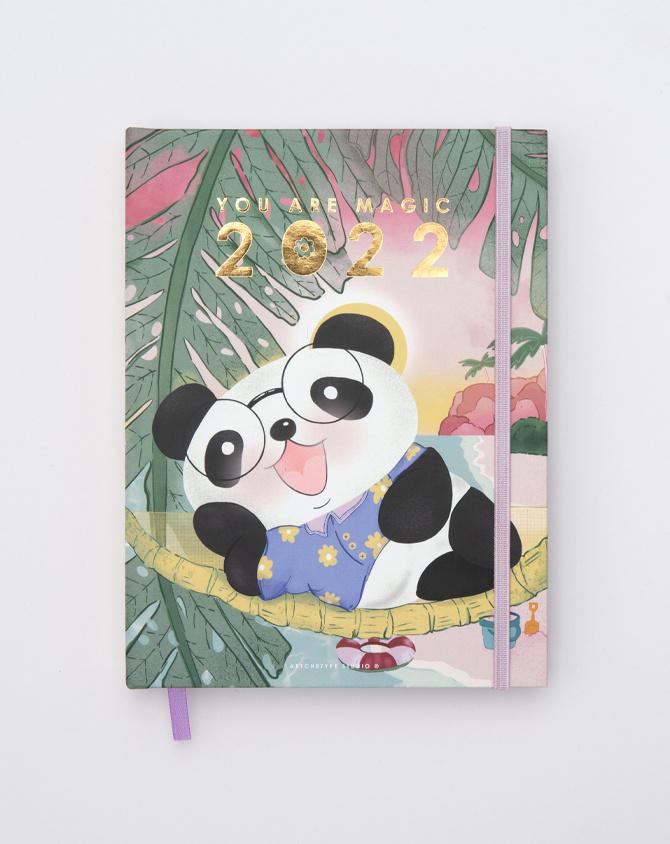 2022 Cute ft. Cubo Hardbound Annual Planner   Pre-order Edition-AP2201