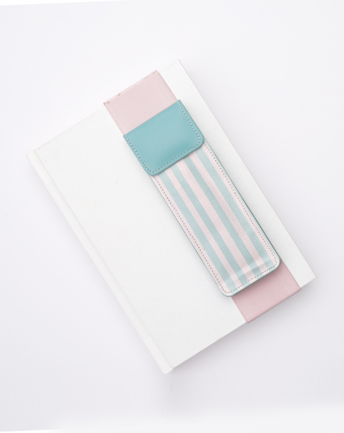 Classic Pen Pouch with Elastic Strap-2
