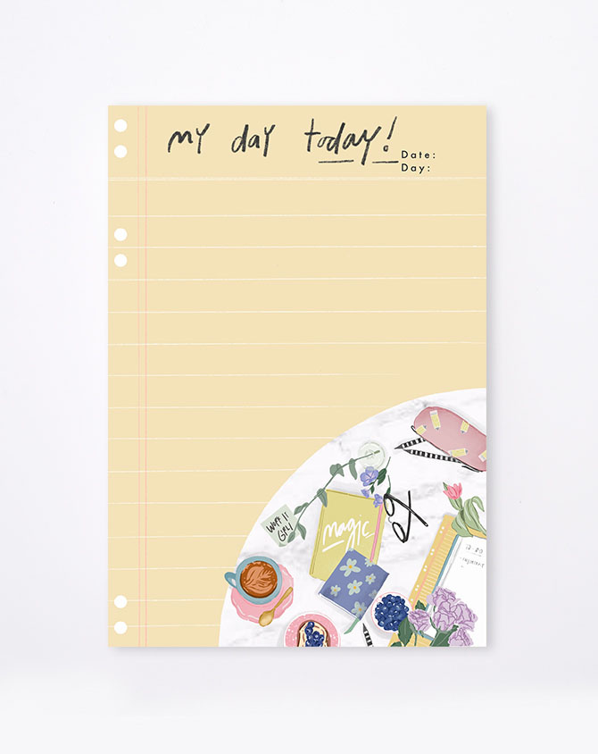 Work It To-Do List Notepad-AP2210