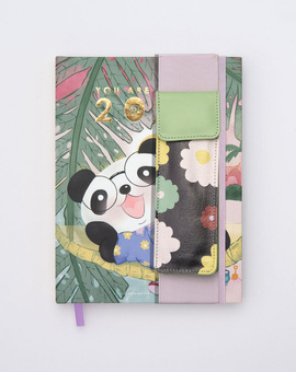 Cute ft. Cubo Planner Kit 01-  Hardbound Annual Planner + Pen Pouch with Elastic Strap