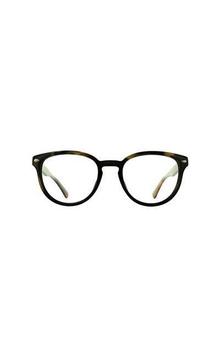 Oval shaped eyeglasses