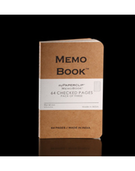 Memo Book (64 Pages/Pack of three)