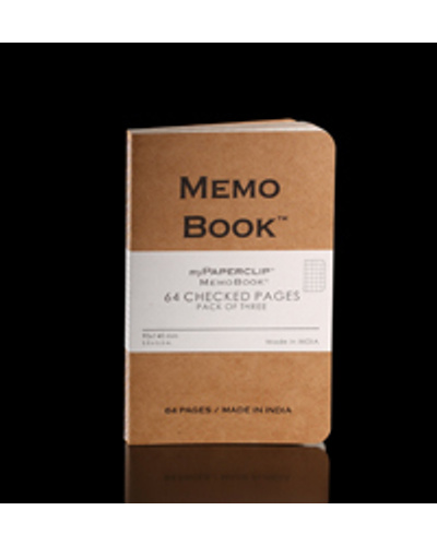 Memo Book (64 Pages/Pack of three)-10201