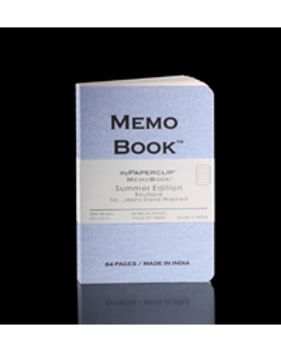 Memo Book (64 Pages/Pack of three)-10202