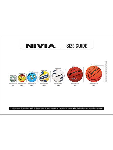 NIVIA KROSS WORLD FOOTBALL-RED BLACK-5-5