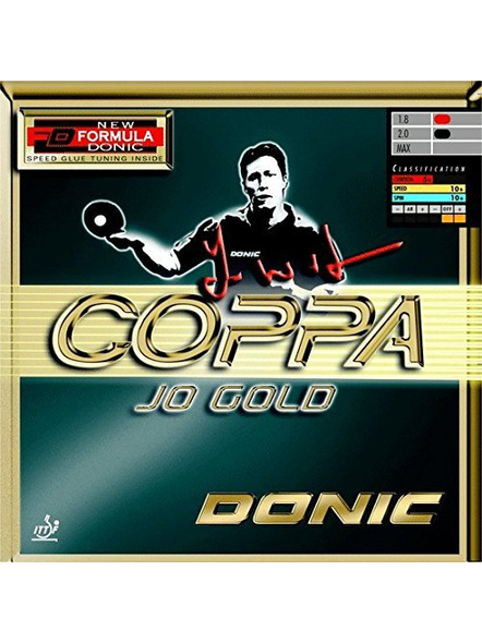DONIC COPPA JO GOLD TABLE TENNIS RUBBER-BLACK-.-2