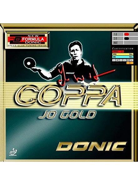 DONIC COPPA JO GOLD TABLE TENNIS RUBBER-BLACK-.-3