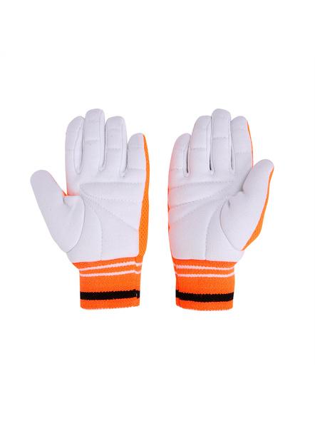 PUMA 041433 INNER GLOVES-MENS-White-orange-4