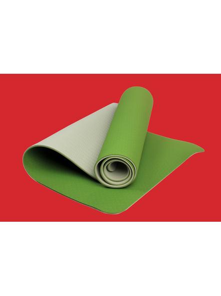 AIRAVAT TPE 6 MM SINGLE YOGA MAT (Colour may vary)-6 MM-YELLOW-4