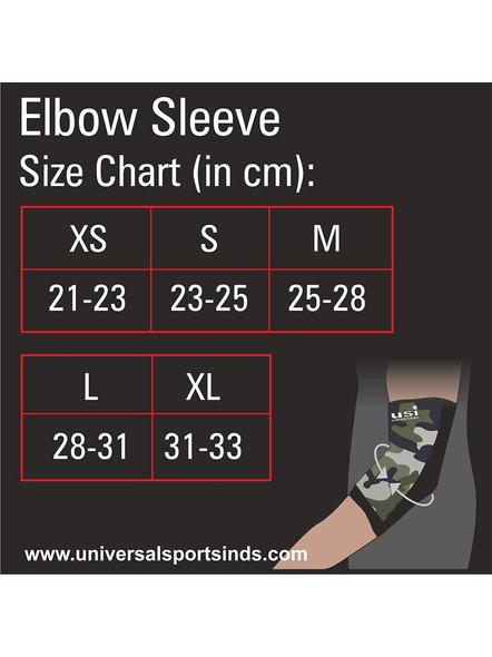 USI ES3 ELBOW SUPPORT-CAMO/BLACK-S-5