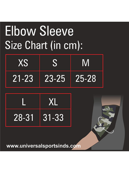USI ES3 ELBOW SUPPORT-CAMO/BLACK-XL-5