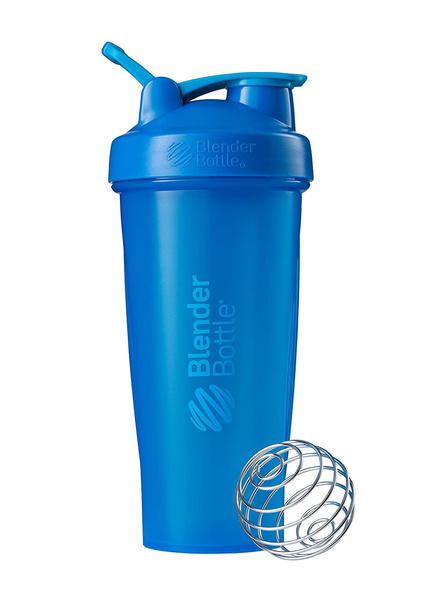 BlenderBottle C01629 Plastic Classic Loop Top Shaker Bottle, 825 ml-CYAN-3