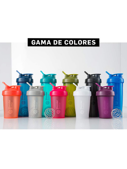 BlenderBottle C01632 Plastic Classic Loop Top Shaker Bottle, 825 ml-CORAL-5