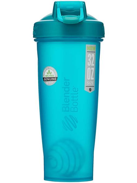 BlenderBottle C01640 Classic Loop Top Shaker Bottle, 32-Ounce-TEAL-3