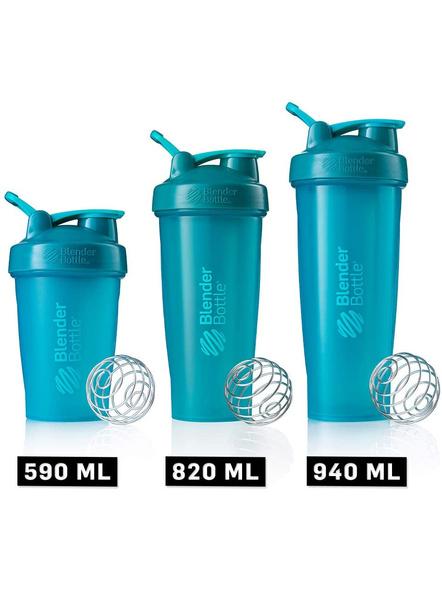 BlenderBottle C01640 Classic Loop Top Shaker Bottle, 32-Ounce-TEAL-5