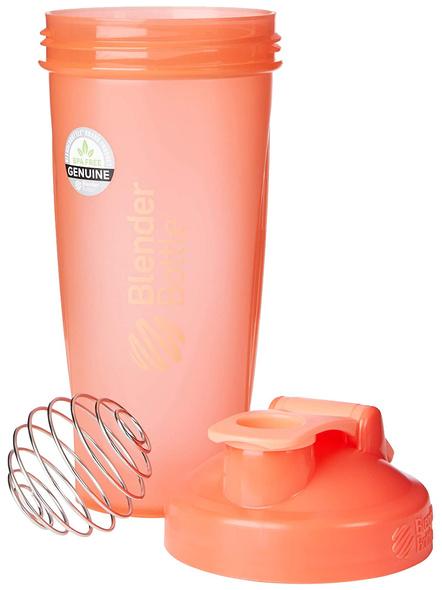 BlenderBottle C01642 Plastic Classic Loop Top Shaker Bottle, 945 ml-CORAL-3