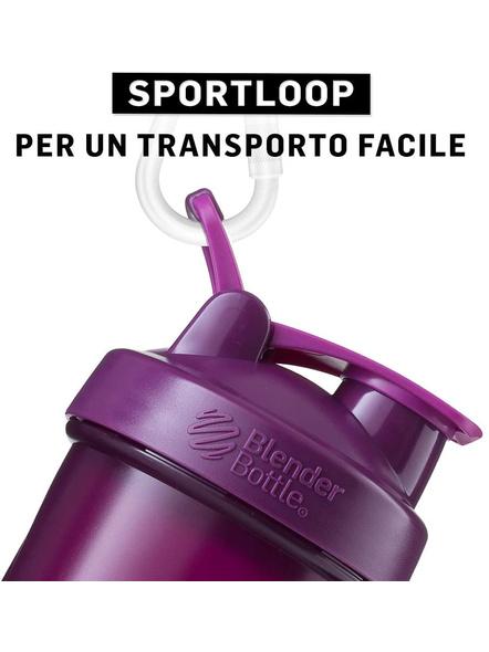 BlenderBottle Classic Loop Top Shaker Bottle, 32-Ounce-PLUM-4