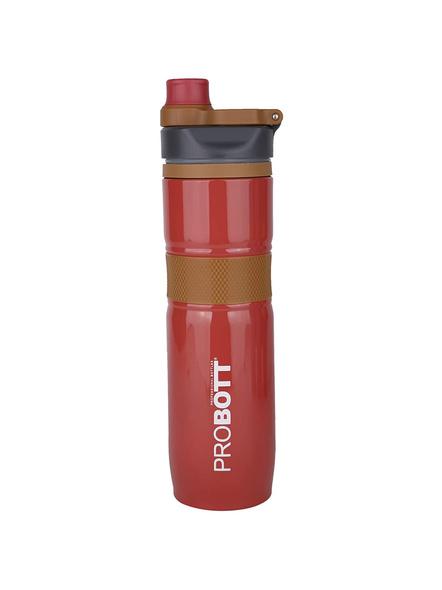 PROBOTT Thermosteel Epsilon Vacuum Flask 1000ml PB 1000-08 (Colour May Vary)-CHOCOLATE-3