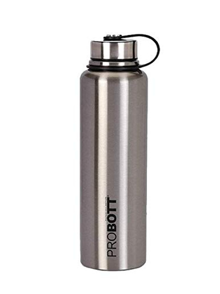 PROBOTT Thermosteel Hulk Vacuum Flask with Carry Bag 1100ml PB 1100-02 (Colour May Vary)-SILVER-3